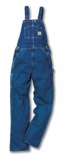 Ogrodniczki Washed Denim Overall Carhartt R07 DST