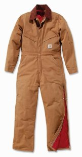 Kombinezon Duck Bib Coverall Quilt Lined